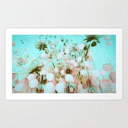 FLOWAS 001 Art Print