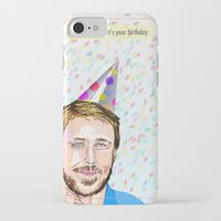 ryan gosling iPhone & iPod Cases featuring Ryan Gosling Hey Girl by June Chang Studio