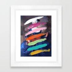 Composition 505 Framed Art Print