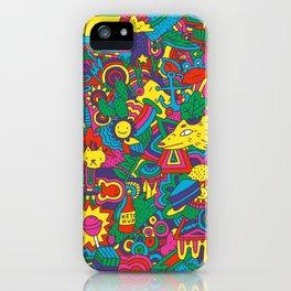 Happy Pattern iPhone Case