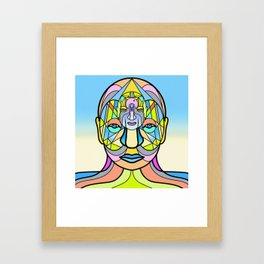 HEere Framed Art Print