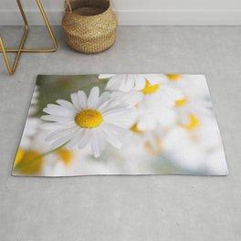 Daisy flowers Rug