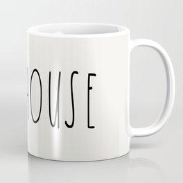 FARMHOUSE wording Typography Coffee Mug