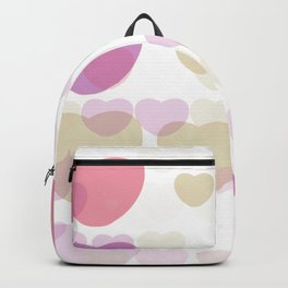 Different sizes of love Backpack