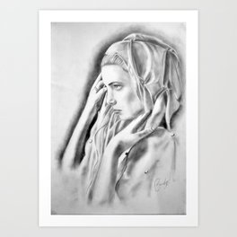 Voile Art Print