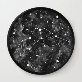 Aquarius Constellation Wall Clock