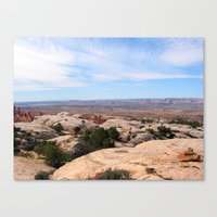 utah Canvas Prints featuring Utah by BACK to THE ROOTS