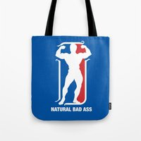 nba Tote Bags featuring NBA by Free Specie