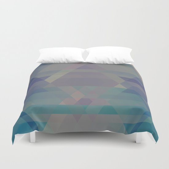 The Clearest Line VII Duvet Cover