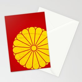 Japanese Emperor' seal Stationery Cards