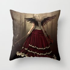 angels symphony Throw Pillow