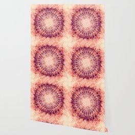 Apricot Mandala Wallpaper