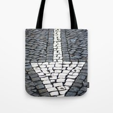 street arrow Tote Bag