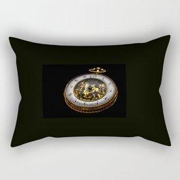 vintage clock_30 Rectangular Pillow