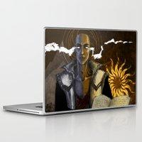 """dragon age Laptop & iPad Skins featuring Dragon Age - Truth by Barbara """"Yuhime"""" Wyrowińska"""