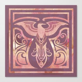 Golden Phoenix Canvas Print