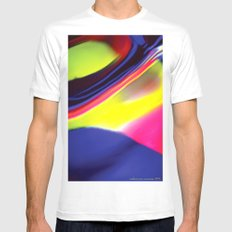 Twister MEDIUM White Mens Fitted Tee