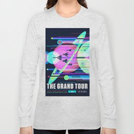 The Grand Tour : Vintage Space Poster Cool Long Sleeve T-shirt
