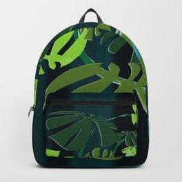 Spiral Monstera Backpack