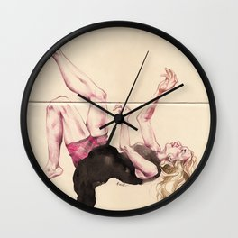 Descend Wall Clock