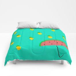 Summer Rains Comforters