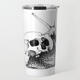 This Skull Is My Home Travel Mug