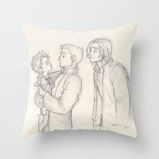 De-aged Cas Throw Pillow