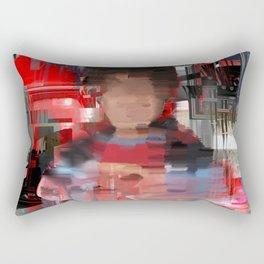 Blood and Dust Rectangular Pillow