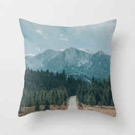 June Lake Loop Throw Pillow