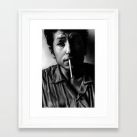 dylan Framed Art Prints featuring Dylan by Susa Diaz