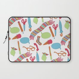 Quirky Pattern Laptop Sleeve