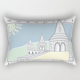 Fisherman's Bastion, Budapest, Hungary Rectangular Pillow