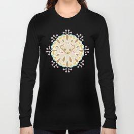 Hedgehog Paisley_Colors and Cocoa Long Sleeve T-shirt