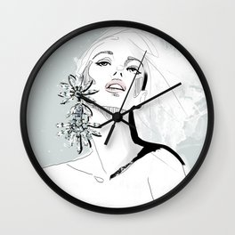 Bling Bling Wall Clock