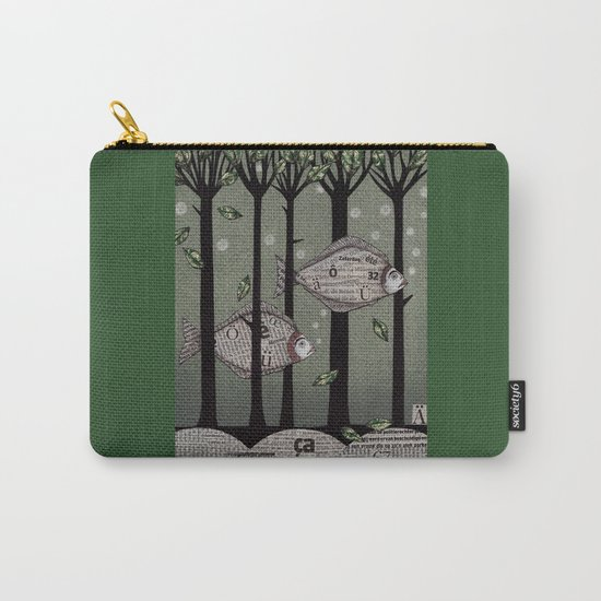 A Fishy Story Carry-All Pouch