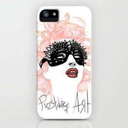 Prostitute of Art iPhone Case