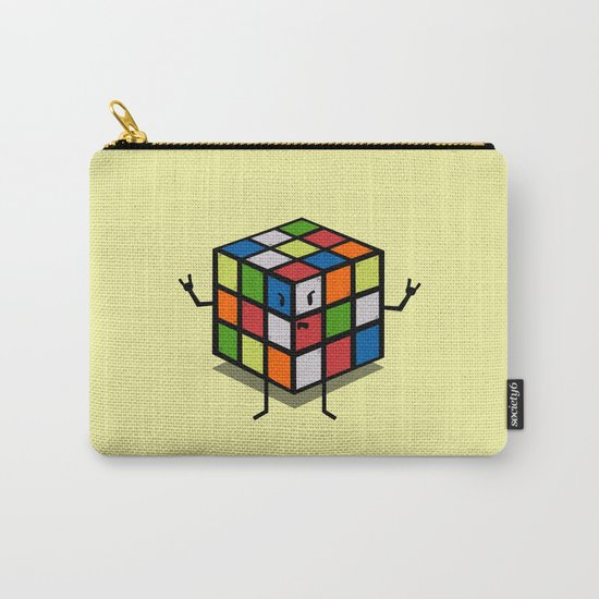 Rebel Rubik Carry-All Pouch