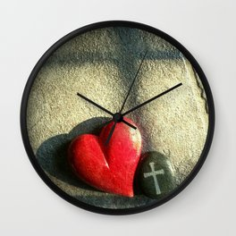 """""""Heart and Soul"""" Wall Clock"""