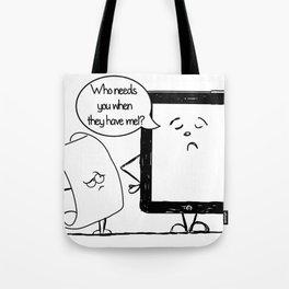 The Digital Age Tote Bag