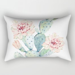 The Prettiest Cactus Rectangular Pillow
