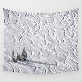 Powder tracks Wall Tapestry