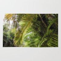 Giant Palms Rug