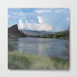 Mc Donald Lake Glacier NP Metal Print