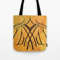 lesbian Tote Bags featuring Together Lesbian Love by taiche