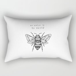 to exist is to resist Rectangular Pillow