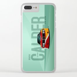 1975 3.0 CSL - Calder Art Car Clear iPhone Case
