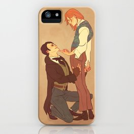 Parnasse/Jehan iPhone Case
