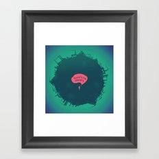 Planet B Framed Art Print