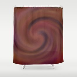 Night of Fire and Wind Shower Curtain