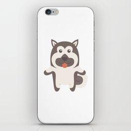 Norwegian Elkhound Gift Idea iPhone Skin